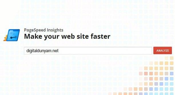 google-web-sitesi-testi