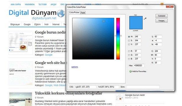 Tasarımcılar için Firefox eklentileri