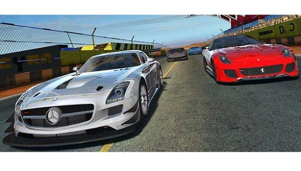 Gerçekci android araba yarışı GT Racing 2