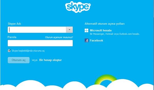 Skype da çoklu oturum açmak