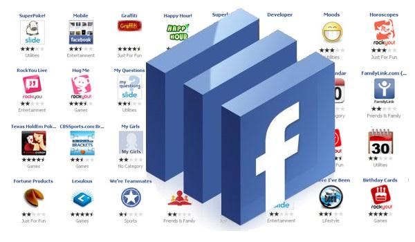 2014 ilk çeyreği Facebook da en çok kullanılan uygulamalar